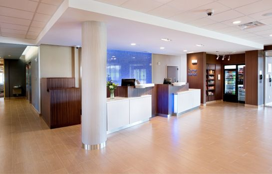 Hotelhalle Fairfield Inn & Suites Rochester Mayo Clinic Area/Saint Marys