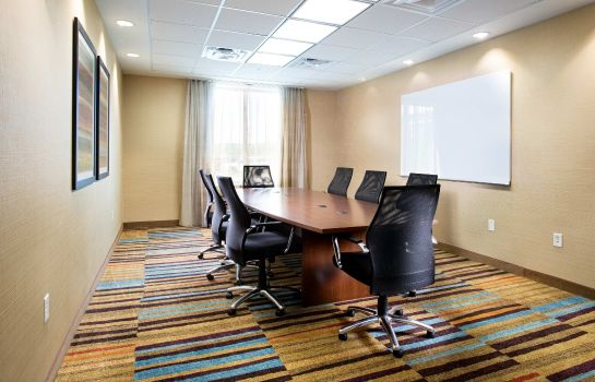 Sala de reuniones Fairfield Inn & Suites Rochester Mayo Clinic Area/Saint Marys