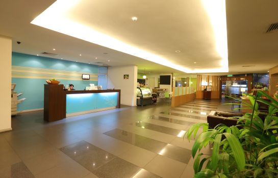 Hol hotelowy The LimeTree Hotel Kuching