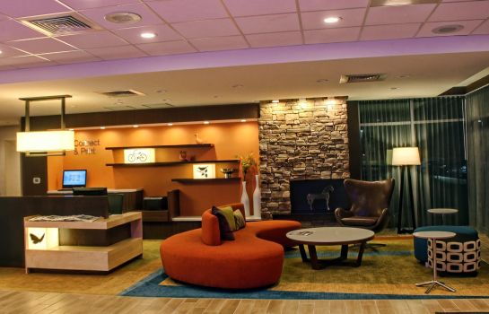 Hol hotelowy Fairfield Inn & Suites Reading Wyomissing