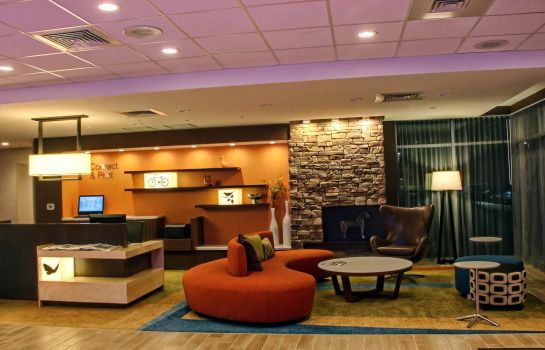 Hotelhalle Fairfield Inn & Suites Reading Wyomissing