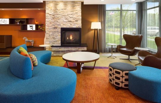 Lobby Fairfield Inn & Suites Akron Fairlawn