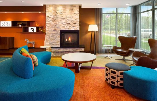Hol hotelowy Fairfield Inn & Suites Akron Fairlawn