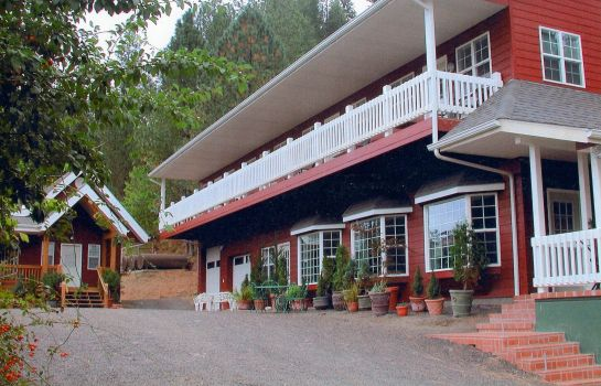 Vue extérieure Hearthstone Elegant Lodge by the River