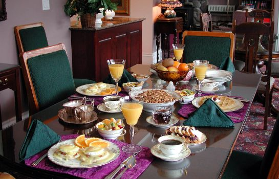Sala colazione Hearthstone Elegant Lodge by the River