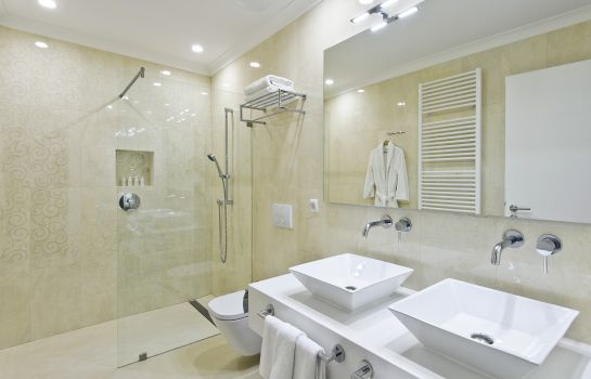Bagno in camera Adele Boutique Hotel