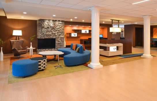 Hol hotelowy Fairfield Inn & Suites Santa Cruz