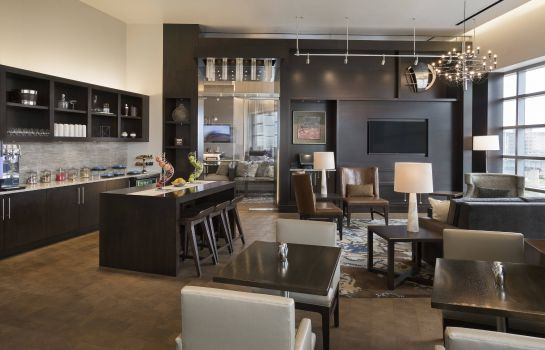 Hotel-Bar Buffalo Marriott at LECOM HARBORCENTER