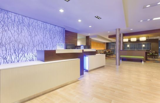 Hall de l'hôtel Fairfield Inn & Suites Pittsburgh Airport/Robinson Township