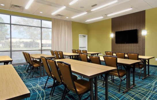 Sala de reuniones SpringHill Suites Houston I-10 West/Energy Corridor