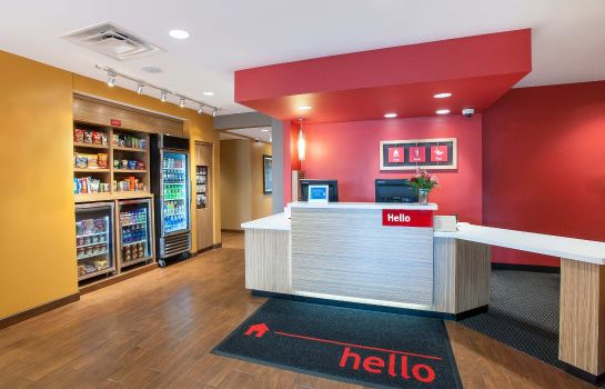 Hol hotelowy TownePlace Suites Minneapolis Mall of America