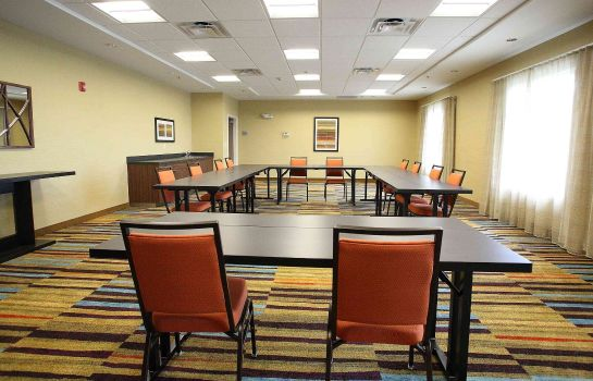 Sala de reuniones Fairfield Inn & Suites East Grand Forks