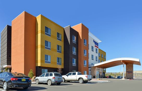 Vista esterna Fairfield Inn & Suites Gallup