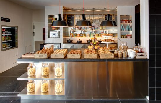 Buffet prima colazione citizenM Paris CDG Airport