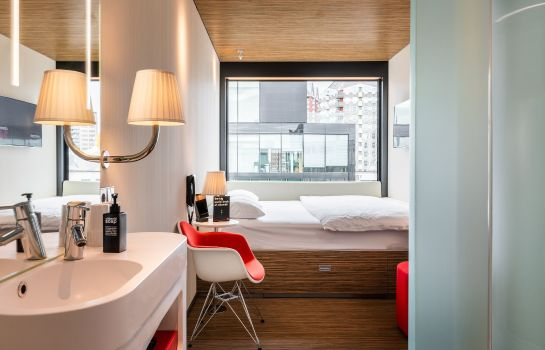 Zimmer citizenM Paris Charles de Gaulle Airport