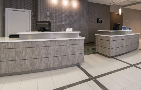 Vestíbulo del hotel Residence Inn Raleigh-Durham Airport/Brier Creek