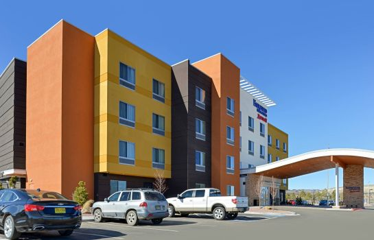 Buitenaanzicht Fairfield Inn & Suites Gallup