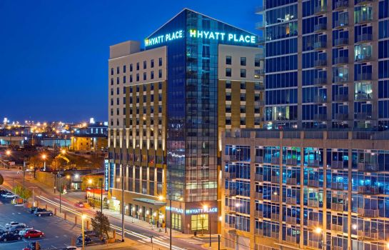 Buitenaanzicht Hyatt Place Nashville Downtown