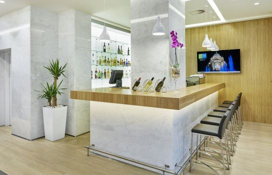 Bar de l'hôtel Holiday Inn Express BELGRADE - CITY