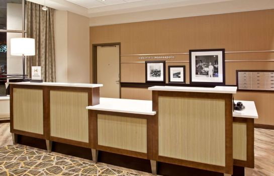 Hol hotelowy Hampton Inn - Suites - Minneapolis-Downtown MN