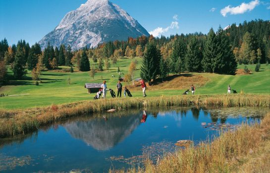 Golf course Appartement Residenz Seefeld