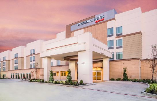 Exterior view SpringHill Suites Houston Westchase