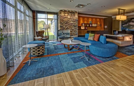 Lobby Fairfield Inn & Suites Jackson