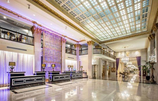 Vestíbulo del hotel Marriott Vacation Club Pulse at The Mayflower Washington D.C.