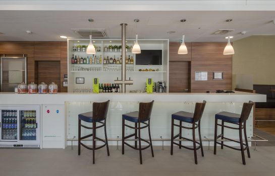 Hotelbar Hampton by Hilton Frankfurt City Centre Messe