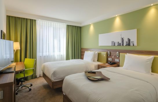 Doppelzimmer Standard Hampton by Hilton Frankfurt City Centre Messe