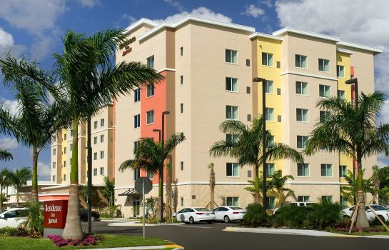 Exterior view Residence Inn Miami Airport West/Doral