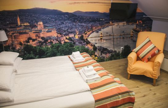 Double room (superior) FIFTEEN Boutique Rooms  Budapest
