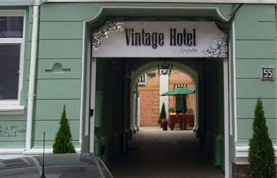 Exterior view Vintage Hotel