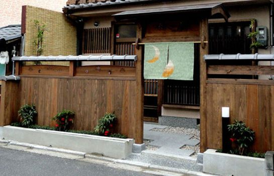 Exterior view Guesthouse Higashiyama