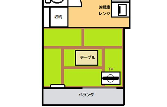 Double room (standard) (RYOKAN) Kokusai Towns Inn