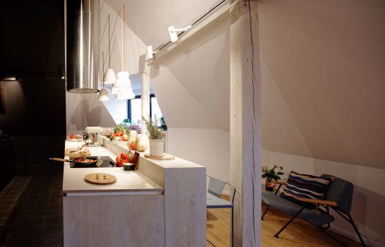 Fabulous Hotel Kitchen Libertine Lindenberg With Pentry Kche