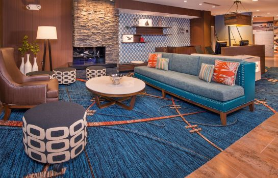 Hol hotelowy Fairfield Inn & Suites Easton