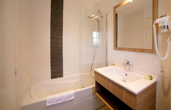 Bagno in camera Hotel An Ti Gwenn Logis