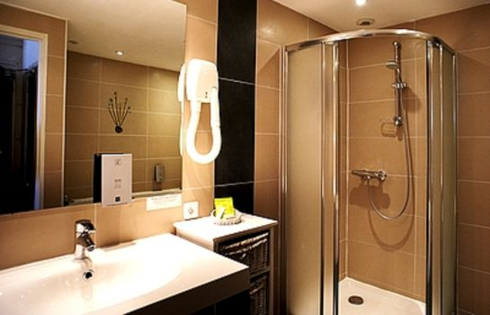 Bagno in camera Hotel Le Bussy Logis