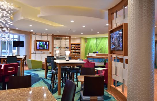 Hotelhalle SpringHill Suites Wisconsin Dells