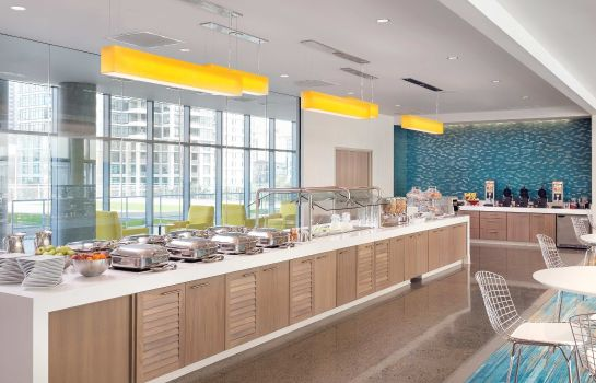 Restaurant SpringHill Suites San Diego Downtown/Bayfront