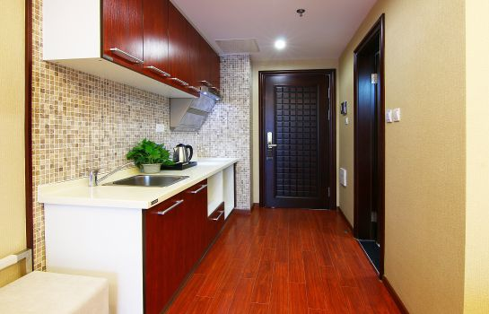 Double room (standard) Tujia Somerset Xinhui Shenyang Service Apartment