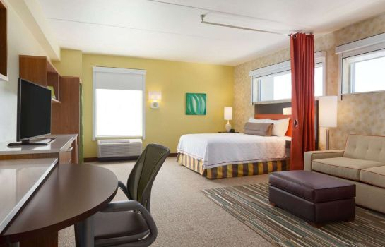 Pokój Home2 Suites by Hilton Albany Airport-Wolf Rd