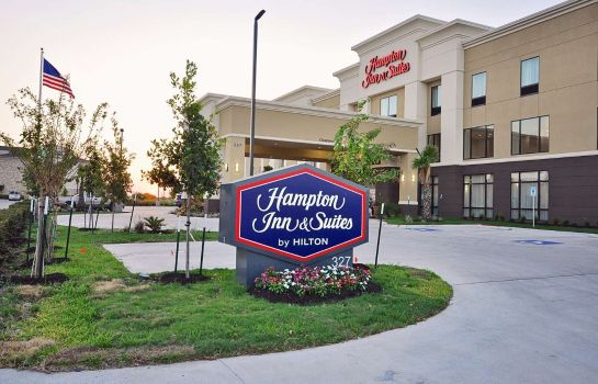 Buitenaanzicht Hampton Inn and Suites Hutto