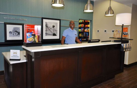 Hol hotelowy Hampton Inn and Suites Hutto