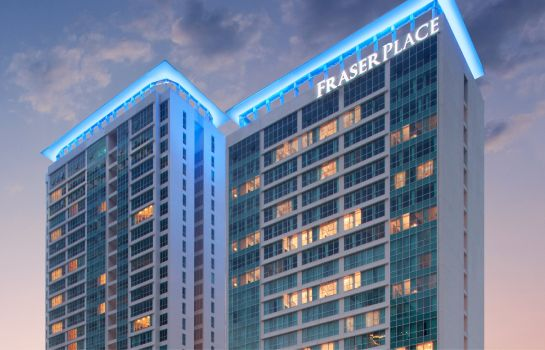 Exterior view Fraser Place Setiabudi Jakarta