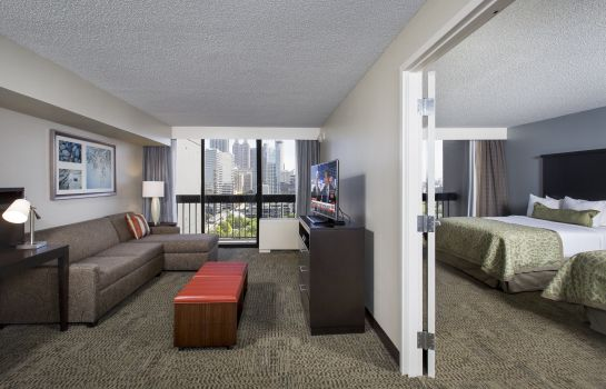Pokój typu junior suite Staybridge Suites ATLANTA - MIDTOWN