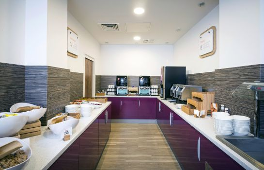 Restaurante Holiday Inn Express MIDDLESBROUGH - CENTRE SQUARE