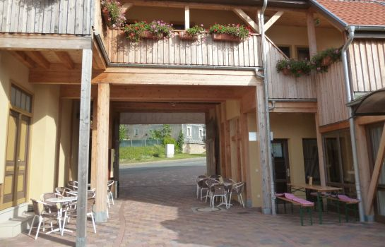 Exterior view Pension-Eiscafe-Libelle