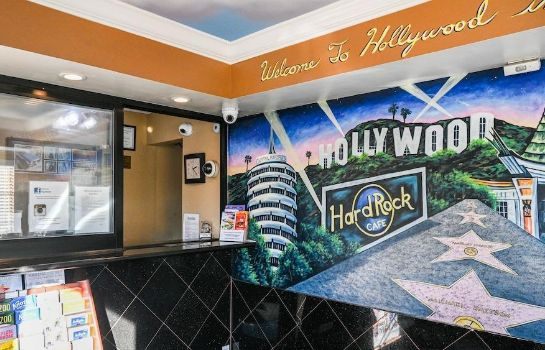Empfang Hollywood Inn Express North